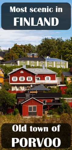 One of the most scenic towns in #Finland. #Travel #Porvoo