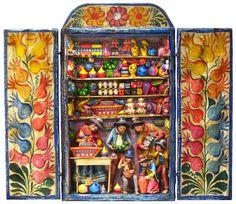mexican folk art retablos - Yahoo Image Search Results