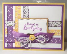 Woven card using Fun Stampers Journey patterned paper and supplies. www.marthajstamps.com