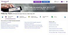 Yahoo Help