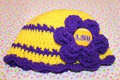 LSU girly hat :)