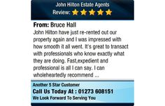 John Hilton have just re-rented out our property again and I was impressed with how smooth...