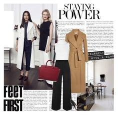 """""""Untitled #1545"""" by natza ❤ liked on Polyvore featuring Carven, Rick Owens, Rosetta Getty, Gianvito Rossi and MICHAEL Michael Kors"""