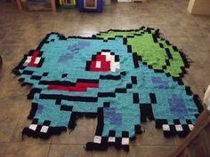 I choose you, #Bulbasaur! #pokemon #nintendo #nerd #blanket #crochet
