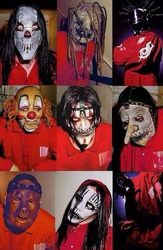 Slipknot Self titled 1999 Rock Y Metal, Nu Metal, System Of A Down, Radiohead, Slipknot Band, Slipknot Corey Taylor, New Gods, Heavy Metal Bands, Music Bands