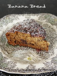 Banana Bread with Chocolate Chips by ilonaspassion.com