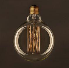 Kolekcia EDISON sú dekoračné žiarovky ktoré vyžarujú svetelný efekt Shinee, Light Bulb, Retro, Lighting, Vintage, Home Decor, Bulb Lights, Homemade Home Decor, Light Fixtures