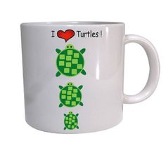 I love Turtles .