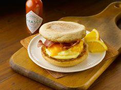 Spicy Bacon Breakfast Sammich