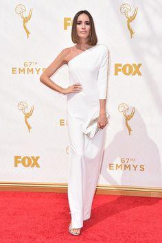 Premios Emmy 2015 - Louise Roe por Halston.