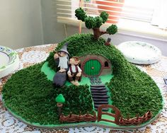 Lord of the Rings Shire Cake