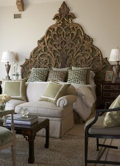 Beautiful Habitat: Love it or Leave it  Sofa at the Foot of the Bed