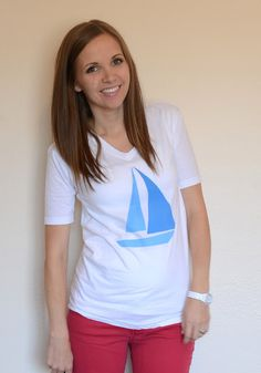 When I posted my sailboat tee tutorial a few weeks ago, I promised a tutorial on taking in the sleeves. This is really the most simple alteration out there, but it makes a huge difference, especially if you're trying to avoid the 90's baggy look (which, um, I hope you are). Here's the t-shirt I …