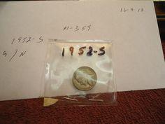 1952   S  //  VG         // Jefferson Nickel  //  M-359