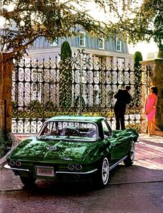 Corvette-The true American sports car...the gentleman's race car