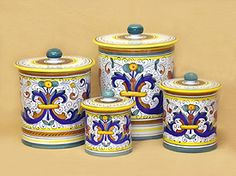 Talavera Canisters. Blue And White Pottery. Gift Idea Under $100. | Blue  And White | Pinterest | Dream Beach Houses And House