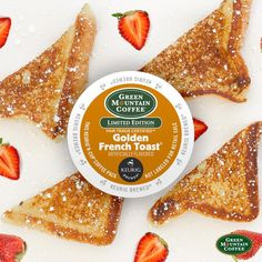 Our Green Mountain Coffee Golden French Toast coffee has sweet, buttery flavor so intense you'd think you were sinking your teeth into this famous breakfast food! Coffee To Water Ratio, Round Wood Coffee Table, Coffee Pack, Green Mountain Coffee, Arabic Coffee, My Tea, Keurig, Fun Drinks, Coffee Drinks