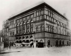 A temperance meeting was held April 30, 1915, at Carnegie Music Hall.