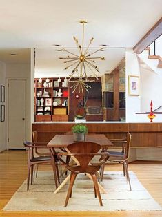 14 Photos Of A Flawlessly Cool Midcentury Modern Home  Barbour Cool Mid Century Modern Dining Rooms Review