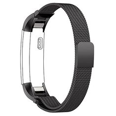 Fitbit Bracelet for Fitbit Flex Fitness Activity Trackers  The KATE INSIGHT Single Strap Plain Studded or Crystal Studded Brushed Metal and Genuine Leather Buckle Fitbit Bracelet *** Want to know more, click on the image. I'm an affiliateof amazon, so and so  .