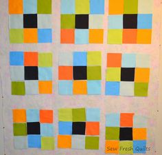 Sew Fresh Quilts: GO! Ohio Star quilt finish