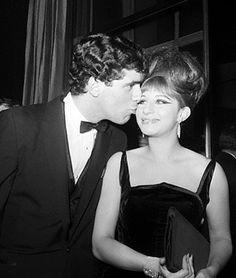 barbrastreisand:    Elliott Gould & Barbra Streisand