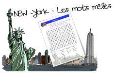Mots mêlés : New york | Bout de Gomme