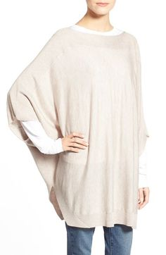 Splendid Poncho Pullover available at #Nordstrom