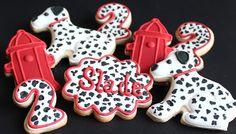 Dalmatian Cookies.