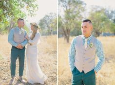 Retro-Meets-Rustic Wedding Inspiration