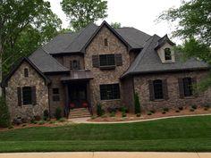 ARH Asheville 1131F Plan Exterior 40 Stone Oakridge