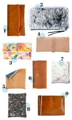Round-up of clutches #accessories #clutch