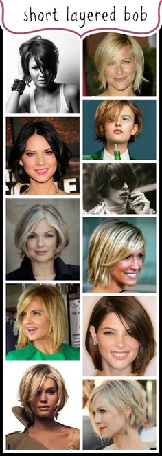 Celebrating THE BOB Hairstyle: The Short Layered Bob www.abeautifullittlelife.com