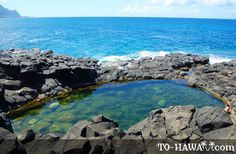 Queens Bath-Kuai, Hawaii  went in the winter and the waves were HUGE and gorgeous but definitely wasn't swimmable