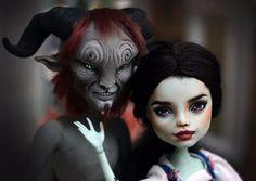 OOAK Monster High doll Beauty and the Beast Emma  Watson Belle