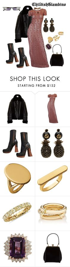 """Word to John Galliano"" by childishglambino ❤ liked on Polyvore featuring Vetements, John Galliano, Prada, Gucci, Links of London, Blue Nile, SPINELLI KILCOLLIN, Dolce&Gabbana and Kendall + Kylie"