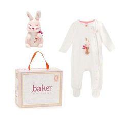 Ted Baker Baby Girls Romper Bodysuit Sleepsuit Toy Bunny Rabbit Gift 9-12 Months