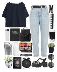 """""""i think we're superstars, you say you think we are the best thing"""" by themisunderstood ❤ liked on Polyvore featuring River Island, MANGO, Topshop, Prtty Peaushun, Forever 21, Crate and Barrel, Passport, GHD, Japonesque and ROOM COPENHAGEN"""