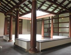 courtyards are common in the traditional south indian houses providing better ventilation to the residents