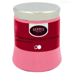 Berrys Pomegranate body scrubprovides you with a light and refreshing solution to keeping your body looking and feeling gorgeous. The pomegranate scents are fantastic and luxurious though it isn't too overpowering and it offers just enough for a teasing taste. This body scrub helps to exfoliate the body, removing any and all dead skin cells and help to freshen and cleanse the skin. The body scrub helps to ensure the body can be rejuvenated allowing skin to breathe, removing residue and…