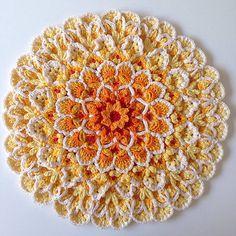 Ravelry: Wildflower Cushion Block pattern by Jen Tyler