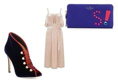 """""""Outta my comfort zone"""" by h-p-fashion ❤ liked on Polyvore featuring Warehouse, Gianvito Rossi and Kate Spade"""