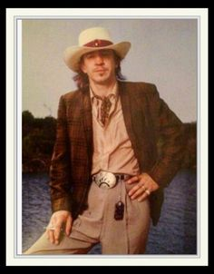 Stevie Vaughan.  Always dressed to kill... :)