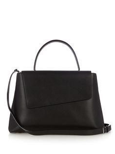 Twist medium grained-leather bag   Valextra   MATCHESFASHION.COM