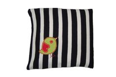 Buy Organic Cotton Mustard Seed Pillow With Applique