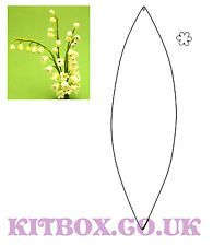 Wildflower cutter - Lily of the Valley and Leaf for Sugarcraft and Decoration