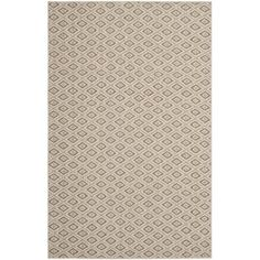 Diamonds Taupe Sisal Wool Rug (8' x 11') | Overstock.com Shopping - The Best Deals on 7x9 - 10x14 Rugs