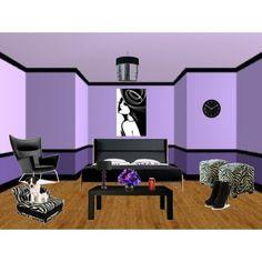 purple room color idea