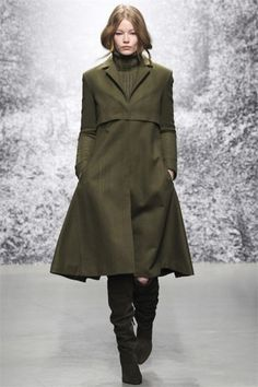 Cappotto militare di Paul e Joe inverno 2015