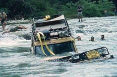 land rover - camel trophy go ahead, it's not that deep... -_-